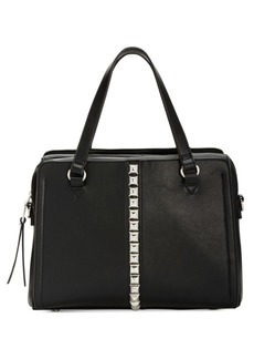 INC International Concepts I.n.c. Faany Pyramid-Studded Satchel, Created for Macy's