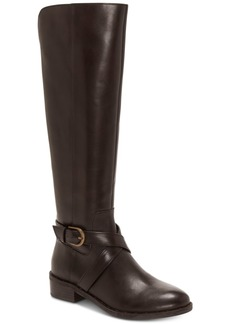 INC International Concepts I.n.c. Fadora Wide-Calf Riding Boots, Created For Macy's Women's Shoes