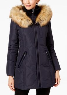 INC International Concepts I.n.c. Faux-Fur-Trim Hooded Puffer Coat, Created for Macy's