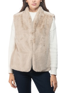 INC International Concepts Inc Faux-Fur Vest, Created for Macy's