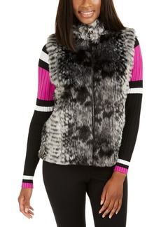 INC International Concepts Inc Faux-Fur Zip-Up Topper, Created For Macy's