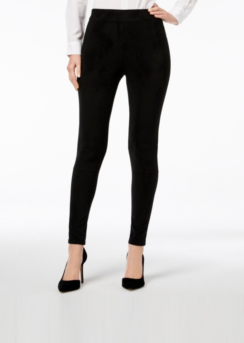 78770181168d1 I.n.c. Shaping Faux-Suede Leggings, Created for Macy's. INC International  Concepts