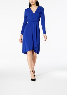 INC International Concepts I.n.c. Faux-Wrap Dress, Created for Macy's