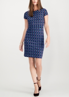 INC International Concepts I.n.c Petite Ponte Cap-Sleeve Dress, Created for Macy's