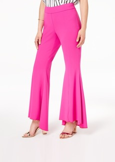 INC International Concepts I.n.c. Curvy Flared High-Low Pants, Created for Macy's