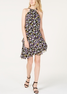 INC International Concepts I.n.c. Floral-Print Halter Dress, Created for Macy's