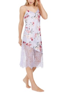 INC International Concepts Inc Floral-Print Lace Chemise Nightgown, Created for Macy's