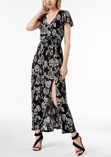 INC International Concepts I.n.c. Floral-Print Shirred-Waist Dress, Created for Macy's