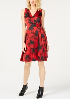 INC International Concepts I.n.c. Floral-Print Tie-Waist Dress, Created for Macy's