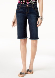 INC International Concepts I.n.c. Frayed-Hem Shorts, Created for Macy's