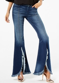 I.n.c. Frayed Tulip-Hem Jeans, Created for Macy's