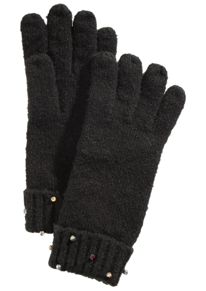 INC International Concepts Inc Gemstone-Cuff Gloves, Created For Macy's