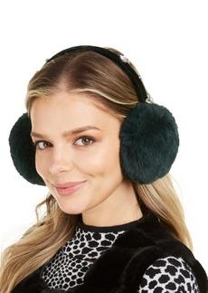 INC International Concepts Inc Gemstones Faux-Fur Earmuffs, Created for Macy's