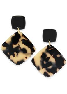 INC International Concepts Inc Geometric Drop Earrings, Created for Macy's