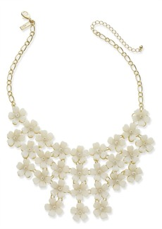"""INC International Concepts I.n.c. Gold-Tone Flower Statement Necklace, 20"""" + 3"""" extender, Created for Macy's"""