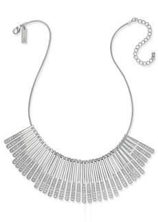 INC International Concepts Inc Gold-Tone Pave Statement Necklace, Created for Macy's