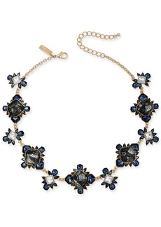 """INC International Concepts I.n.c Gold-Tone Stone & Lace Collar Necklace, 16"""" + 3"""" extender, Created for Macy's"""