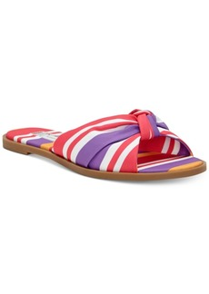 INC International Concepts I.n.c. Guyen Knot Slide Sandals, Created For Macy's Women's Shoes
