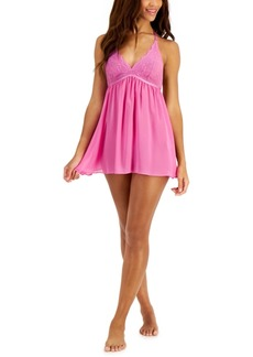 Inc International Concepts Halter Babydoll Nightgown, Created for Macy's