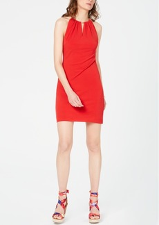INC International Concepts I.n.c. Halter-Neck Bodycon Dress, Created for Macy's
