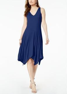 INC International Concepts I.n.c. Sleeveless Knit Asymmetrical Hem Dress, Created for Macy's