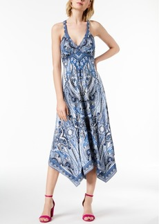 INC International Concepts I.n.c. Handkerchief-Hem Midi Dress, Created for Macy's
