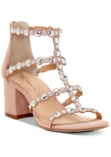 INC International Concepts I.n.c. Helmi Block-Heel Sandals, Created For Macy's Women's Shoes