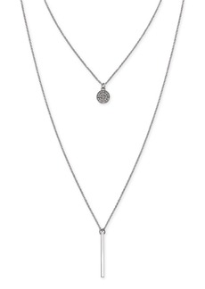 INC International Concepts Inc High-Low Layered Pendant Necklace, Created for Macy's