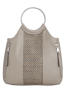 INC International Concepts Inc Huw Bangle Woven Crossbody, Created for Macy's