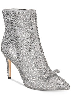 INC International Concepts I.n.c. Ignacia Rhinestone Booties, Created for Macy's Women's Shoes