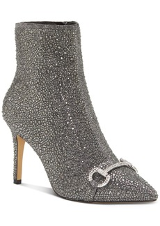 INC International Concepts Inc Ignacia Studded Ankle Bootie, Created for Macy's Women's Shoes