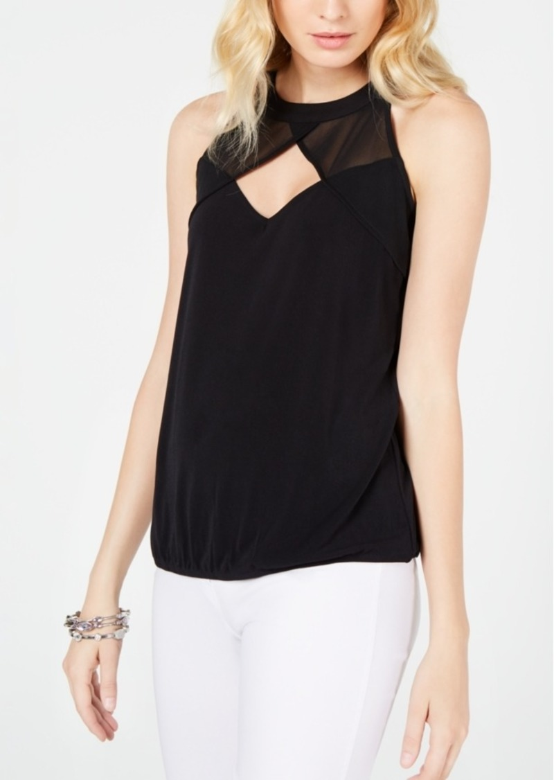 INC International Concepts Inc Illusion Keyhole Top, Created for Macy's