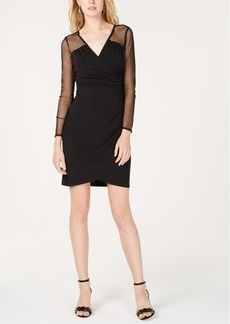 INC International Concepts I.n.c. Illusion-Sleeve Sheath Dress, Created for Macy's