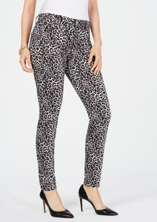 INC International Concepts Inc INCEssential Leopard Skinny Jeans, Created for Macy's