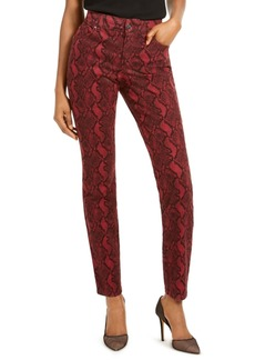 INC International Concepts Inc INCEssential Snake-Print Skinny Jeans, Created For Macy's