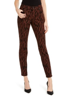 INC International Concepts I.n.c. INCEssentials Tiger-Print Skinny Jeans, Created For Macy's