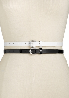 INC International Concepts I.n.c. 2-for-1 Patent Belts, Created for Macy's