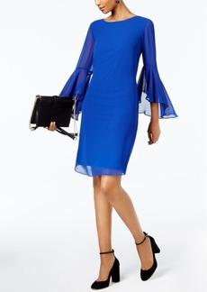 I.n.c. Petite Bell-Sleeve Shift Dress, Created for Macy's