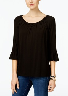 Inc International Concepts Bell-Sleeve Peasant Top, Only at Macy's