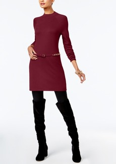 I.n.c. Belted Sweater Tunic, Created for Macy's