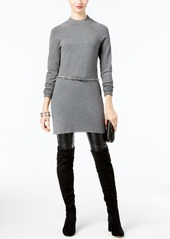 INC International Concepts I.n.c. Belted Sweater Tunic, Created for Macy's