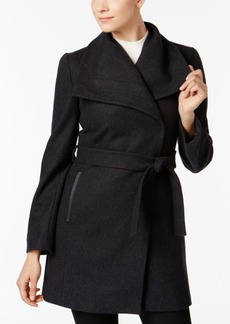 INC International Concepts I.n.c. Belted Wrap Coat, Created for Macy's