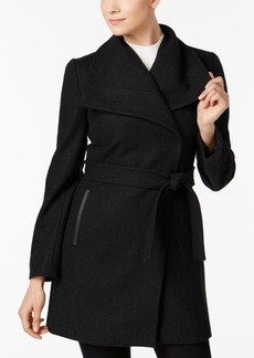 Inc International Concepts Belted Wrap Coat, Created for Macy's