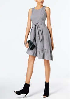 Inc International Concepts Checkered Asymmetrical Dress, Created for Macy's