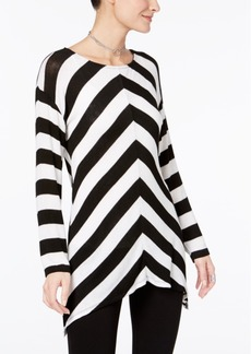 Inc International Concepts Chevron Tunic Sweater, Only at Macy's