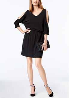 Inc International Concepts Cold-Shoulder Dress, Created for Macy's