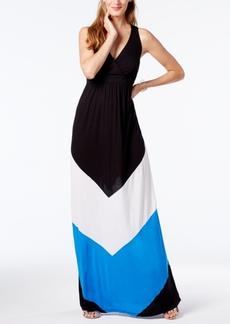 Inc International Concepts Popsicle Colorblocked Maxi Dress, Only at Macy's