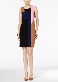 Inc International Concepts Colorblocked Sheath Dress, Only at Macy's