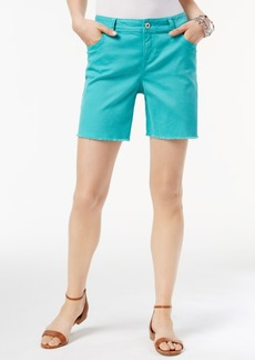 Inc International Concepts Curvy Cutoff Shorts, Only at Macy's