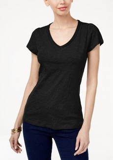 Inc International Concepts Cotton V-Neck T-Shirt, Only at Macy's